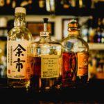 Asiatische Getränke wie Schnaps