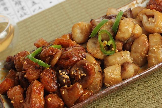 Das sehr beliebte Schweinefleisch süß sauer