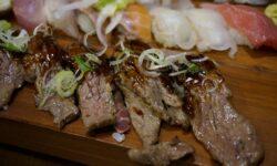 Sushi Variationen vom Rind mit Essig Reis - einfach zubereitet